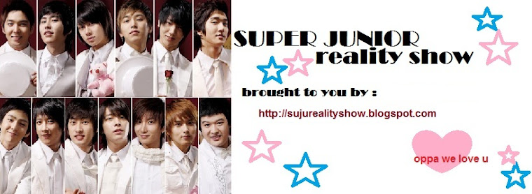 SUPER JUNIOR REALITY SHOW