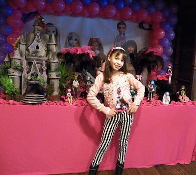 A festa de 8 anos da minha Laura