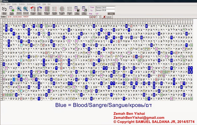 Jacob S Trouble Blood Moons Zemah 2014 2015 Torah Code