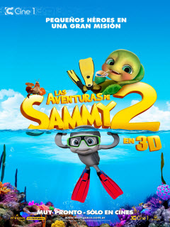 Sammy 2: El gran escape (2012) [DVDRip] [Latino]