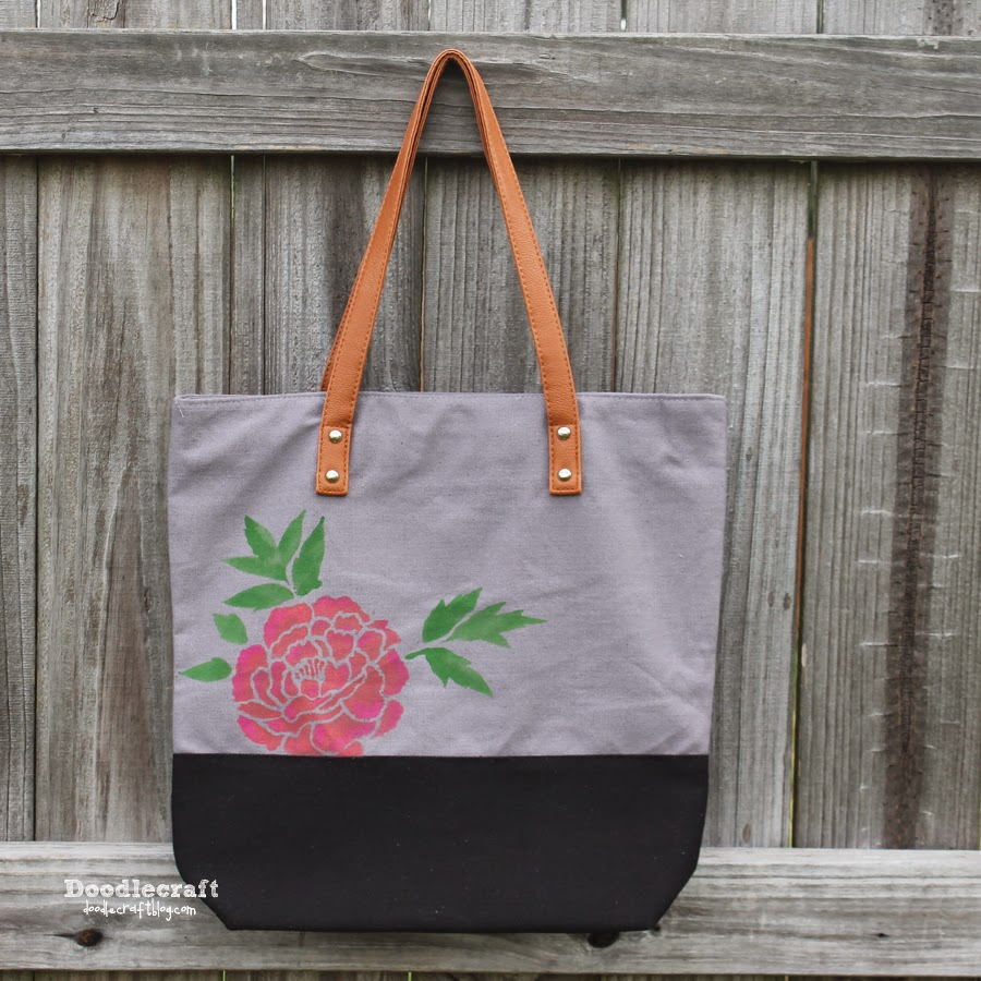 http://www.doodlecraftblog.com/2014/09/japanese-peonies-stencil-tote-bag.html