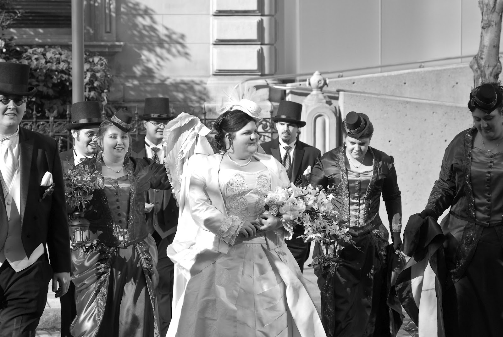 steampunk, wedding