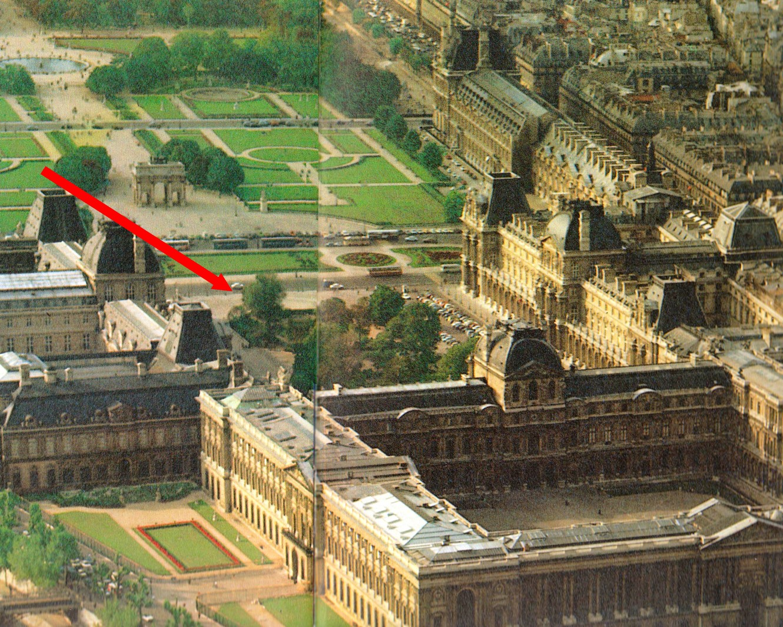 Paris running tour jogging touristique paris - Les jardins du louvre ...