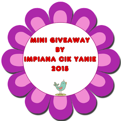 Mini Giveaway By Impiana Cik Yanie 2015 #1