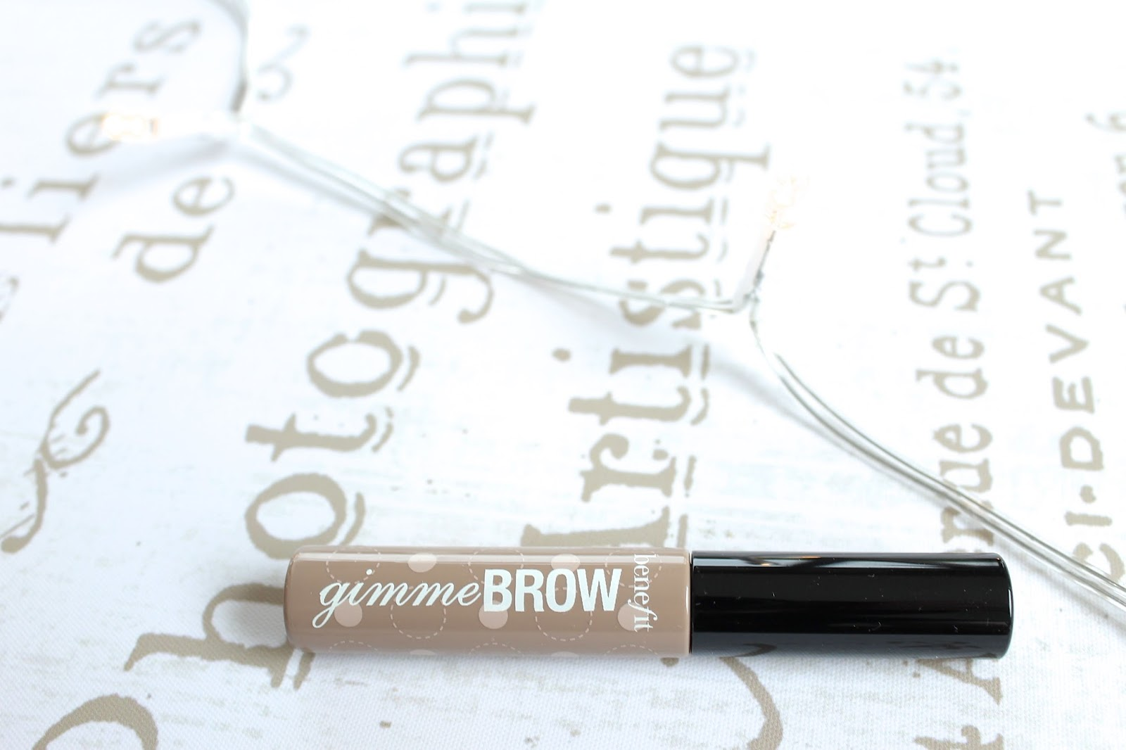 Benefit Gimme Brow beauty blog review