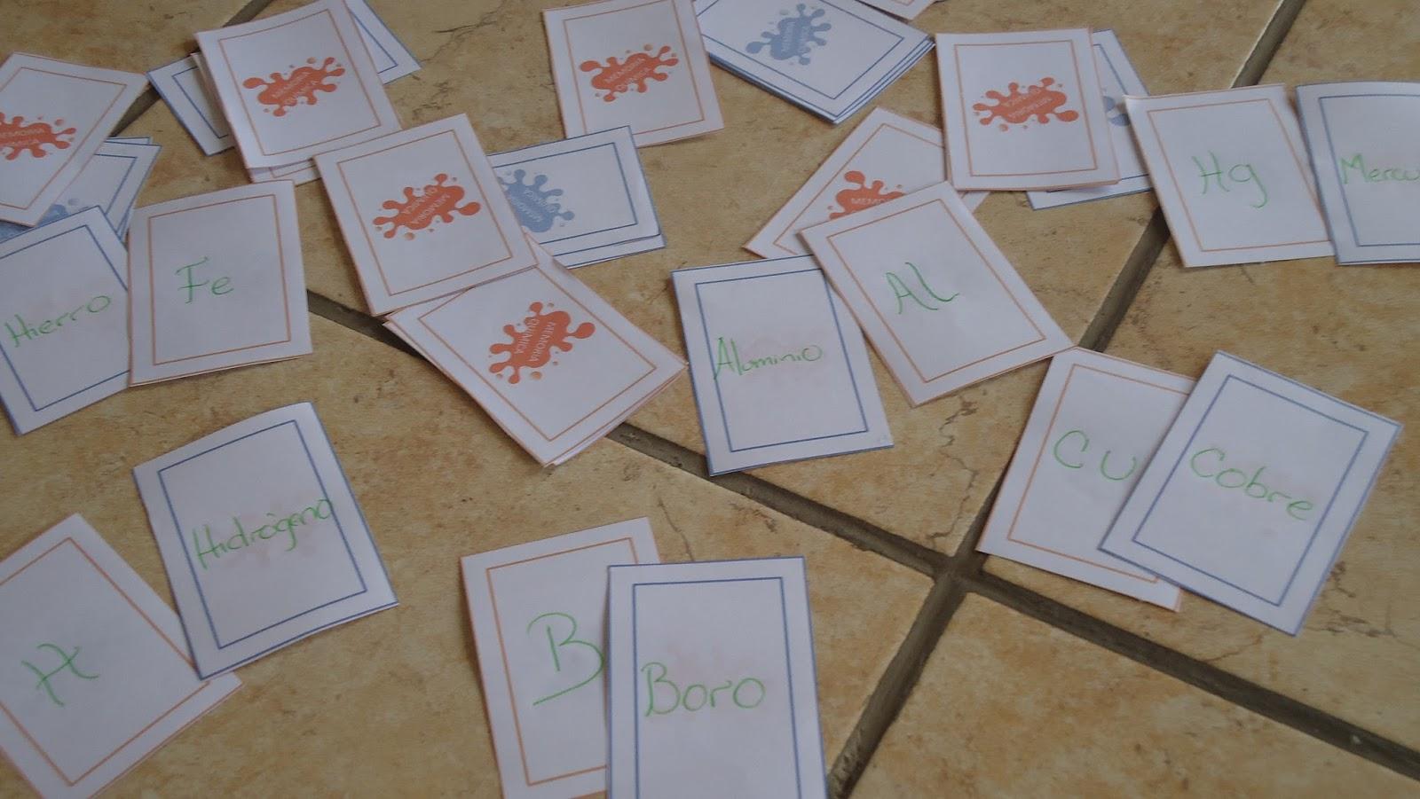 Memoria qumica juego memoria qumica este juego es una innovacin para iniciar el tema de nomenclatura qumica con el cual los estudiantes jugando aprendan el nombre y abreviatura del urtaz Gallery