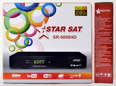 Atualizacao do receptor StarSat SR-9898 v1.16