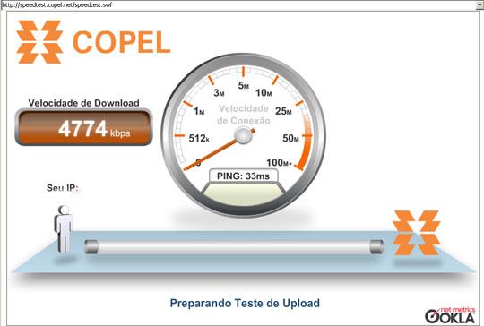 speed test copel vivo