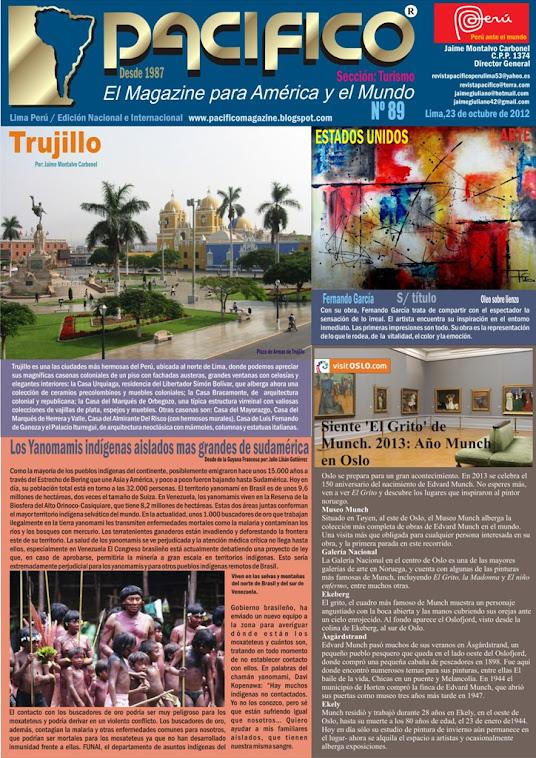 Revista Pacífico Nº 89 Turismo