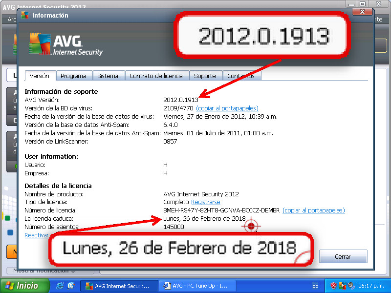 Clave Gratis Para Avg Tune Up 2012