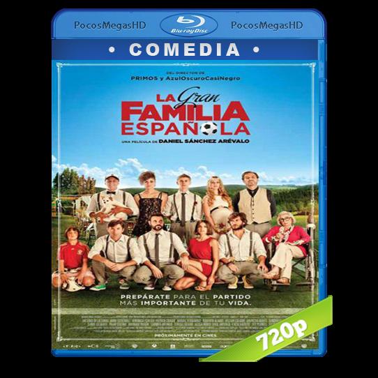 La gran familia Española  (2013)BrRip 720p Castellano AC3
