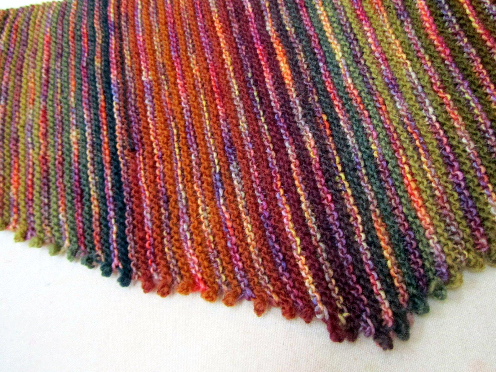 Malabrigo Knitting Patterns : Fibermania: Baktus Scarf #4