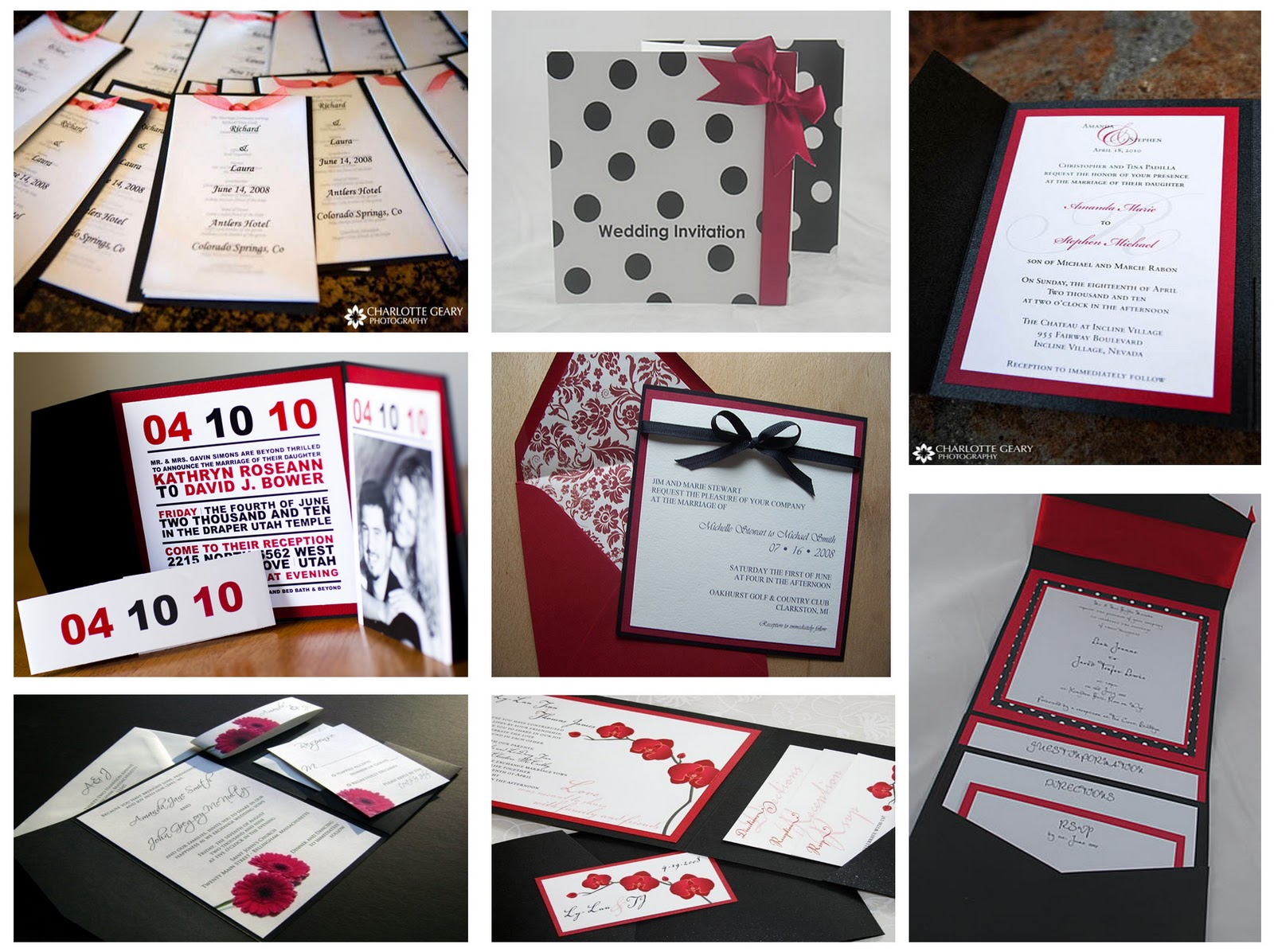 Tiny little bubbles diy pocket fold invitations a work in black red and white wedding invitation mood board solutioingenieria Gallery