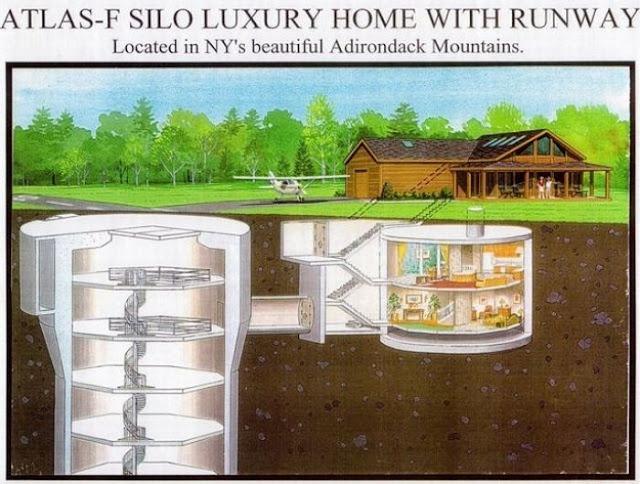 missile storage tower house 01 Orang Barat Bina Rumah Untuk Hari Kiamat