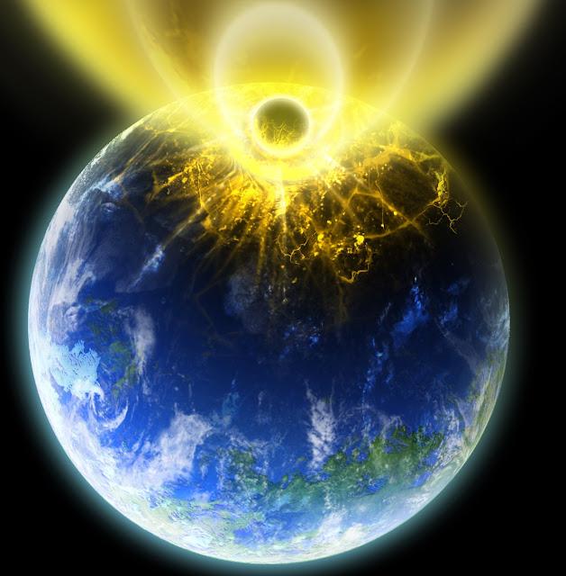 Teoria da terra oca, explosão da magnetosfera nos polos, energia