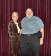 Eric Jamborsky and Shirley Eaton