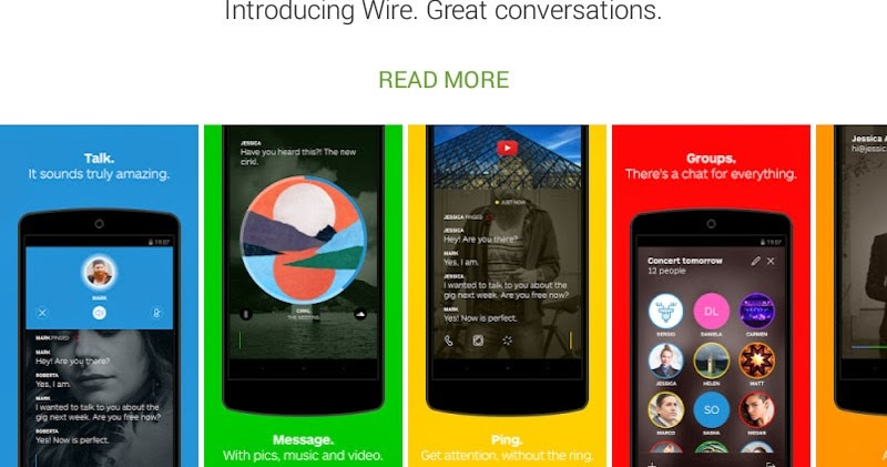 [FREE APP] [Android] Wire : New Messenger works with Android, iOS and OSX