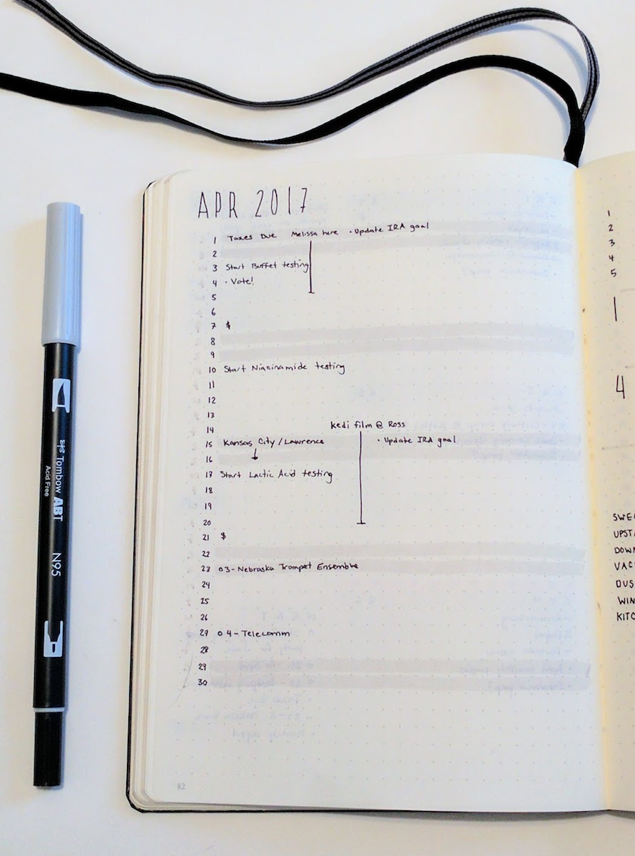 3 month planning calendar