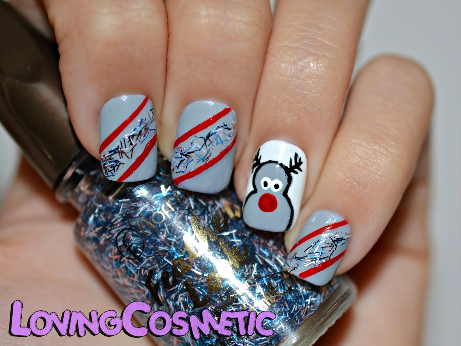 Uñas uña nail art nails nailart diseño flormar festher look