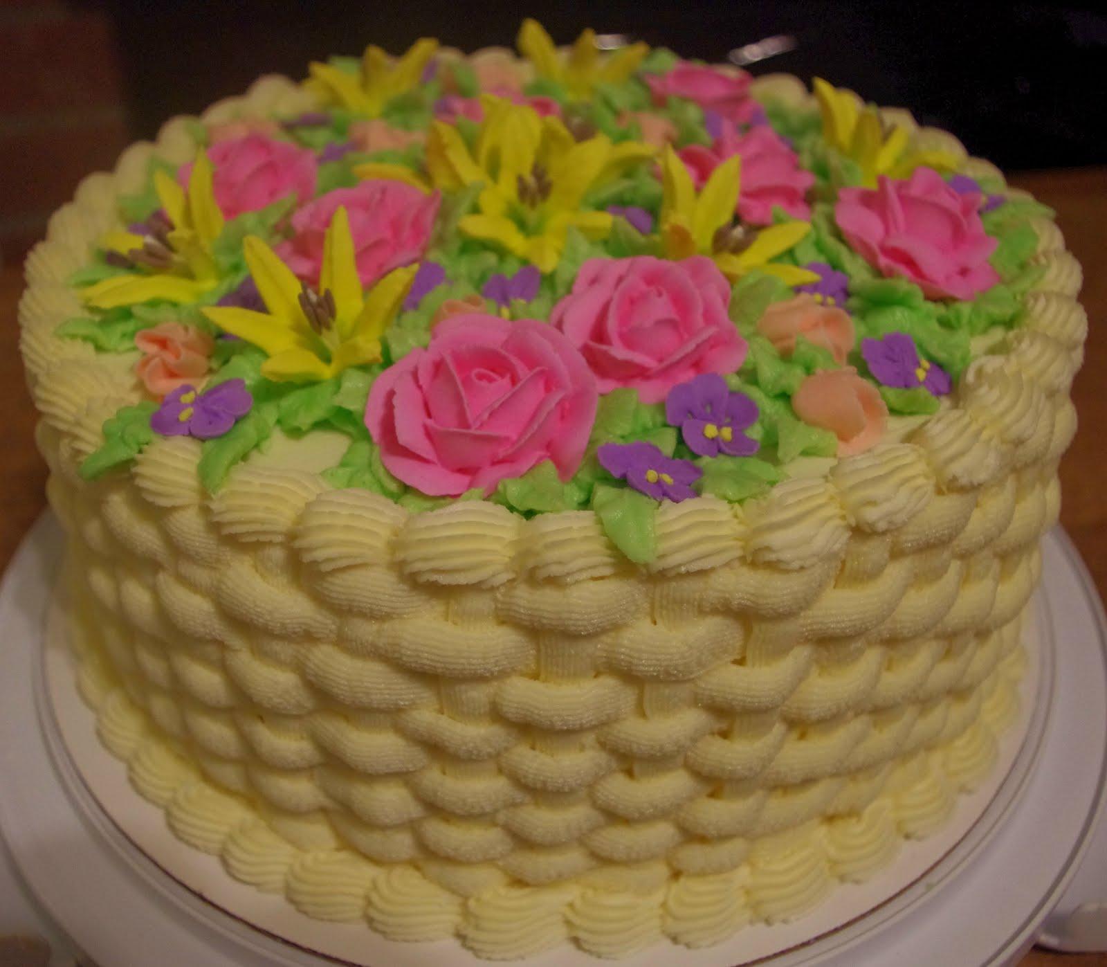 4 Goodness Bake 50th Birthday Cake