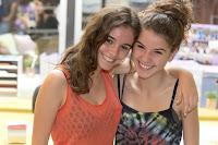 Las hermanas Vilapuig, Joana y Mireia, son Cris y Álex en Polseres Vermelles