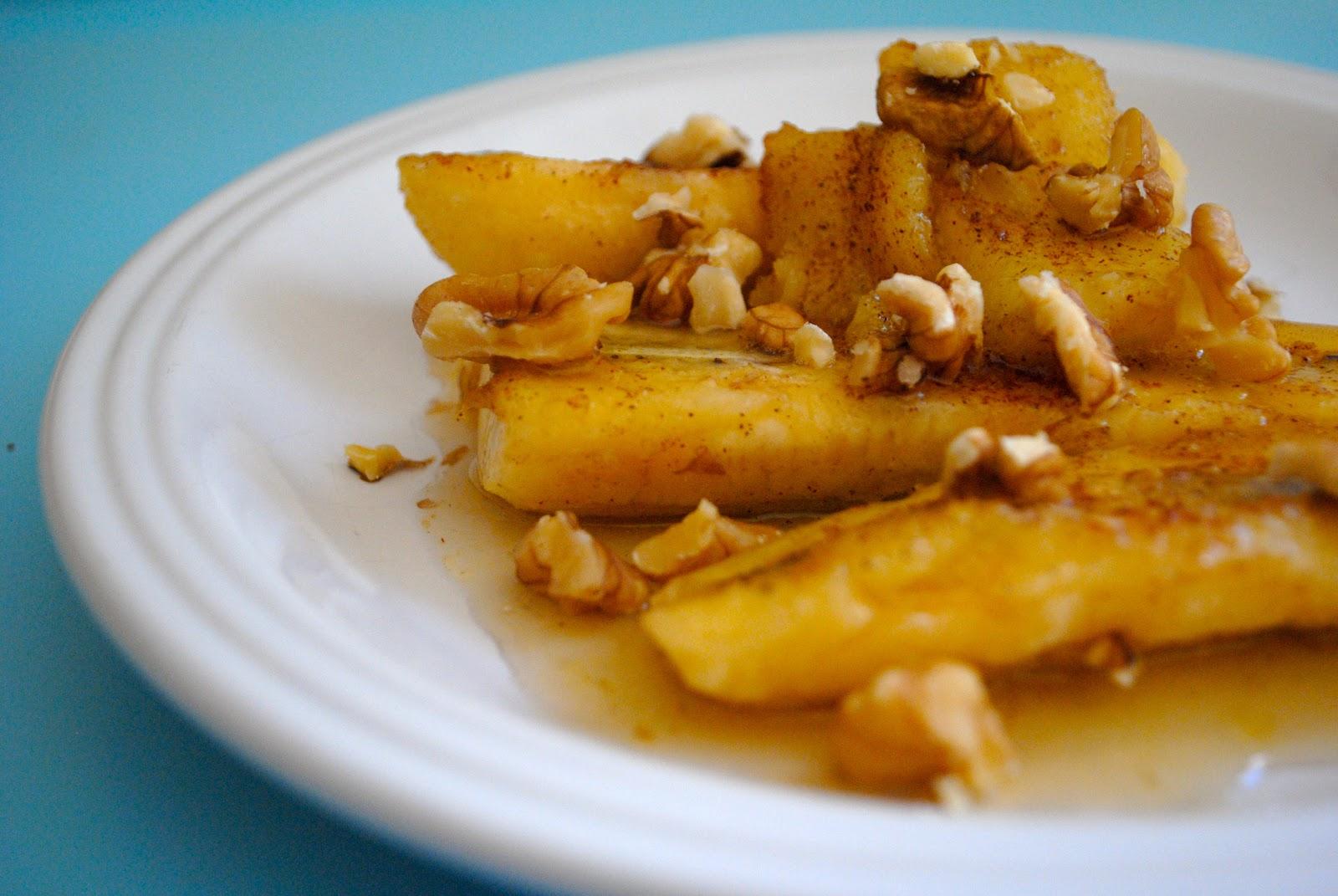 how to make fried bananas recipe