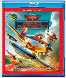 Aviões: Heróis do Fogo ao Resgate - Blu-Ray + DVD
