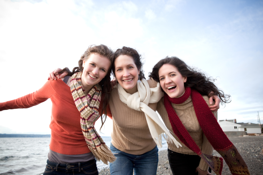 iStock 000012122442Small+mother+and+2+daughters+beach ... the Adam & Eve Health Center sells adult health products including ...
