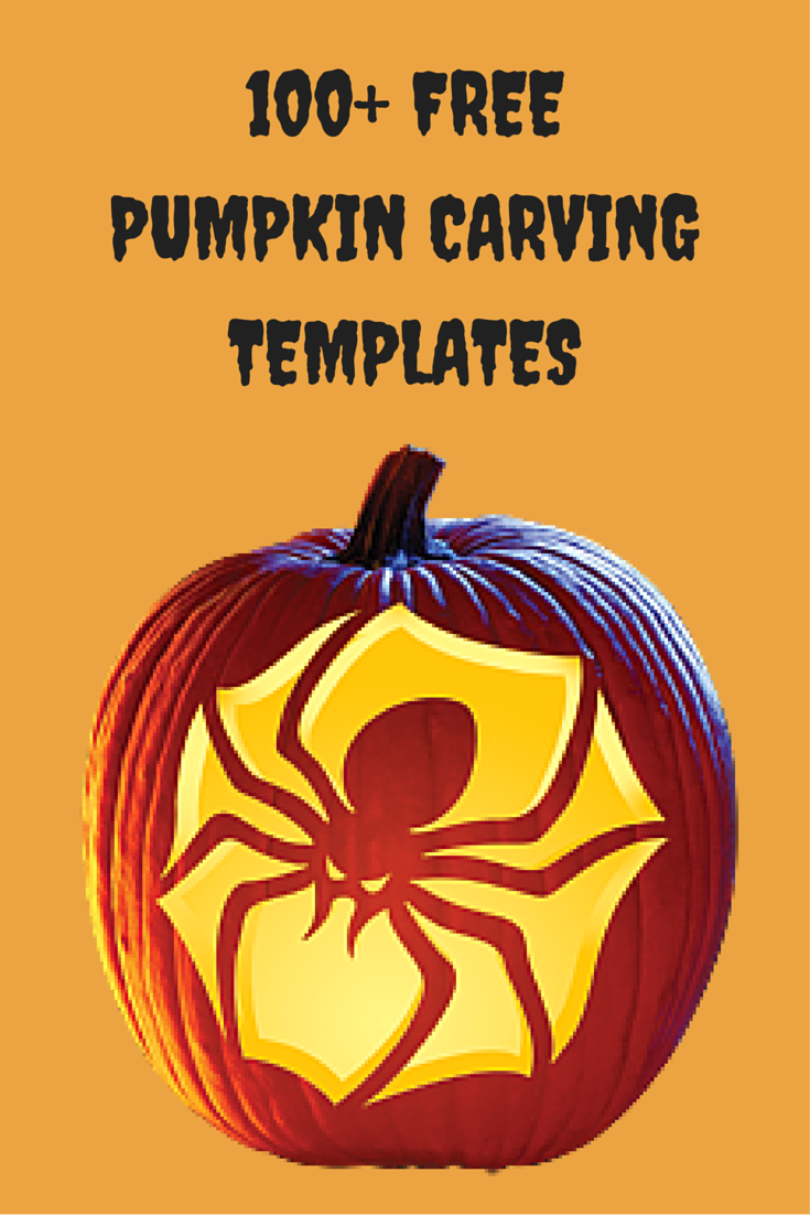 Free Pumpkin Carving Stencils for Toddlers to Teens