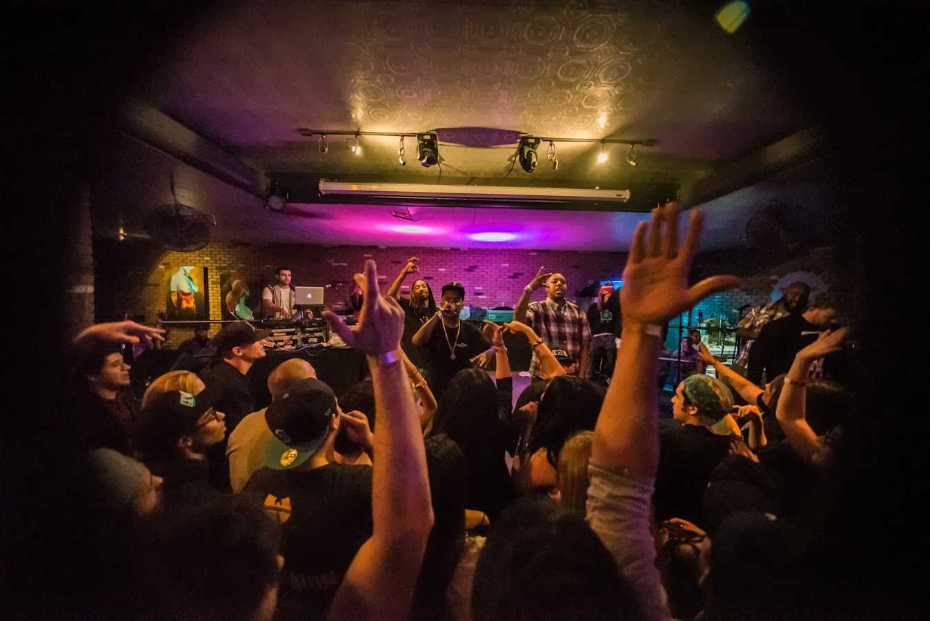 Fashawn Celebrated His 25th Year Repping Central California At The Cellar Door Night Of Friday Oct 24 And Arroz Y Frijoles Music Was There