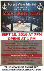 MMA FIGHT FEST - FOREST VIEW IL - NEW DATE  SEPT 10, 2016 AT 7 PM