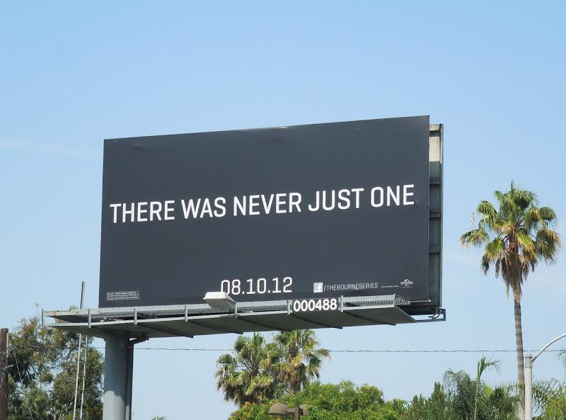 Bourne Legacy teaser billboard
