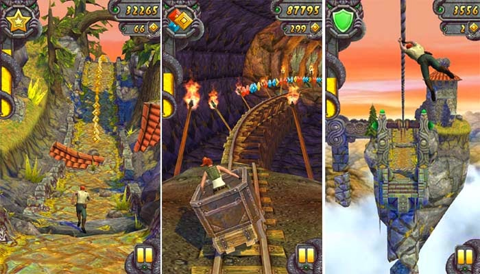 Game Android Temple Run 2 Mod ( Unlimited Gold Coin ) Full Apk