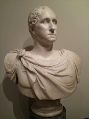 Chuck and Lori's Travel Blog - Bust of George Washington at Metropolitan Museum of Art