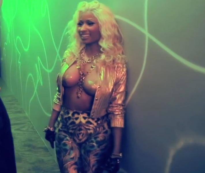 Nicki Minaj Rocks Pasties In New Video With French Montana