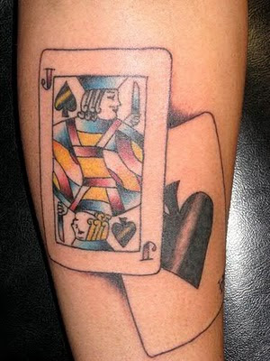 Cards Tattoo Designs Photos