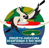 Logomarca do Projeto Desafiando o Rio-Mar