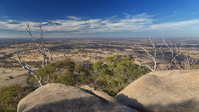 view from langs lookout mount alexander