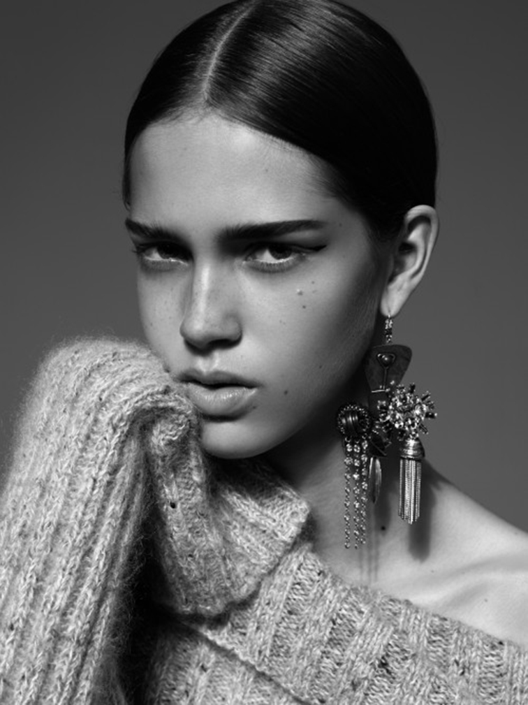 Julia Jamin for CR Fashion Book, photographed by Alexandra Utzmann, styled by Constance Féral