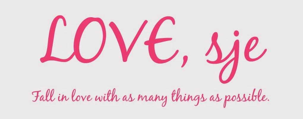LOVE, sje
