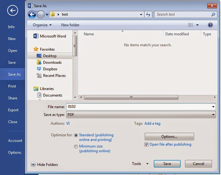 How to Convert Word File to PDF File