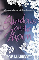 Book cover of Shadows on the Moon by Zoe Marriot