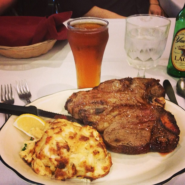 Baltimore Edition: Michael's Steak and Lobster House - San Diego Dining Dish!