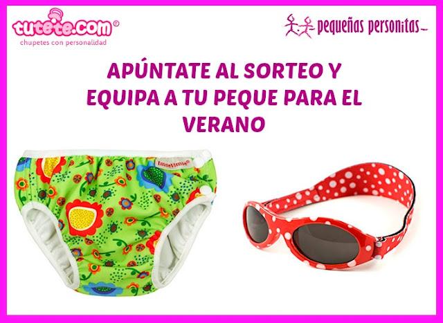 tutete.com, verano, bañador, gafas de sol, vacaciones, piscina, playa, niños, sorteo, sorteos, pañales de agua, bañador pañal