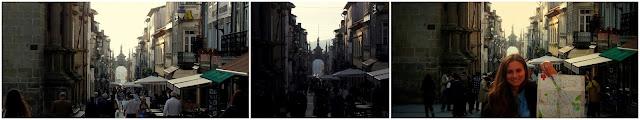 rua souto, arco da porta nova, Braga, Portugal.
