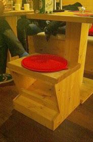 Stitch and Bear - Cute little stools at Mushashi