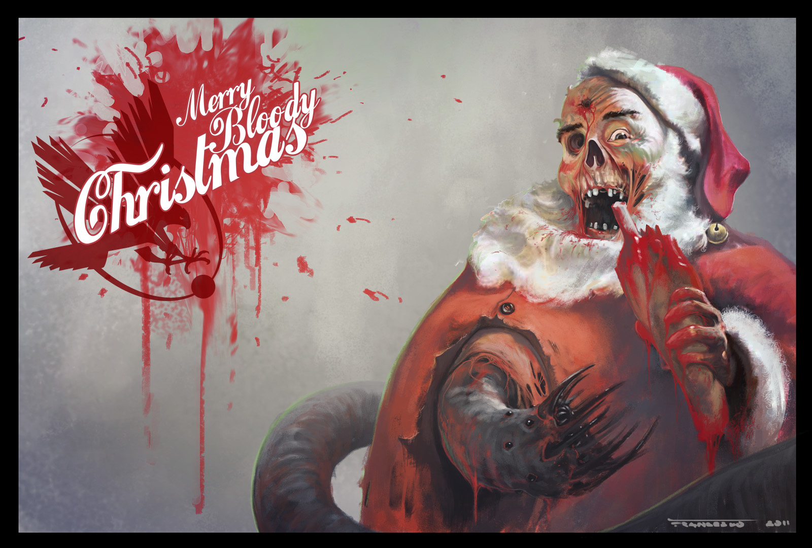 Christmas i made plans with a friend to have a christmas horror movie