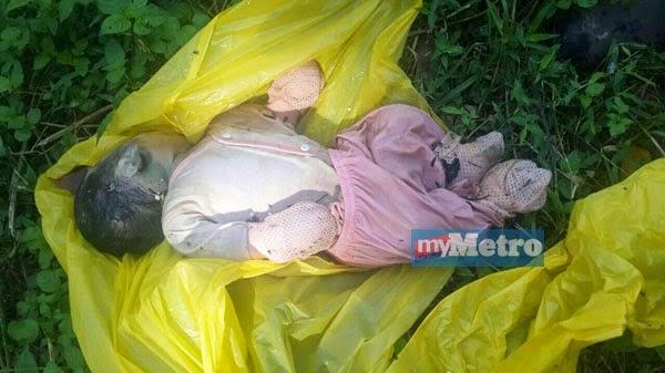 Sadis Mayat Bayi Di Temui Dalam Longkang