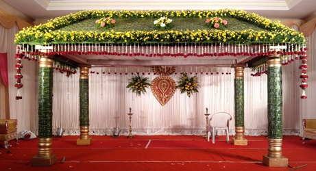 Wedding stage decorators in coimbatore photographers in for Balloon decoration in coimbatore