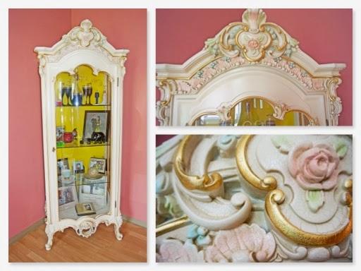 italian curio cabinet